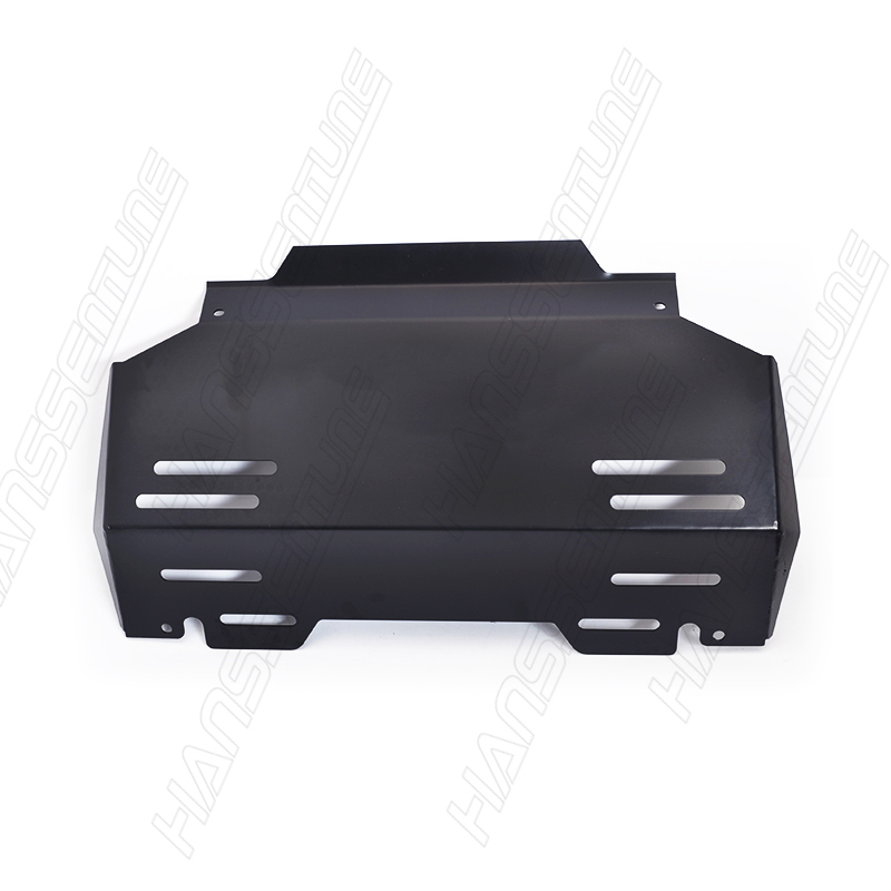 Image 5 - HANSSENTUNE 4X4 Accessories 3.5mm Front Guard Engine Protection Skid Plate For Hilux Revo 2015+-in Protective Frames from Automobiles & Motorcycles