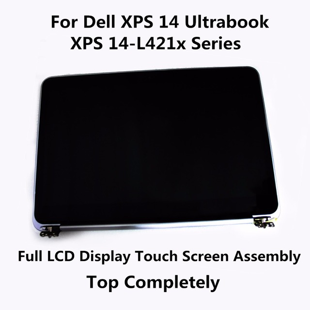 New Genuine Full LCD Display Touch Screen Top Completely Upper Assembly For Dell XPS 14 Ultrabook 0W3V10 XPS 14-L421x Series