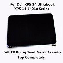 Новый Оригинальный Полный ЖК-Дисплей С Сенсорным Экраном Топ Полностью Верхняя Тяга Для Dell XPS 14 Ultrabook 0W3V10 XPS 14-L421x Серии