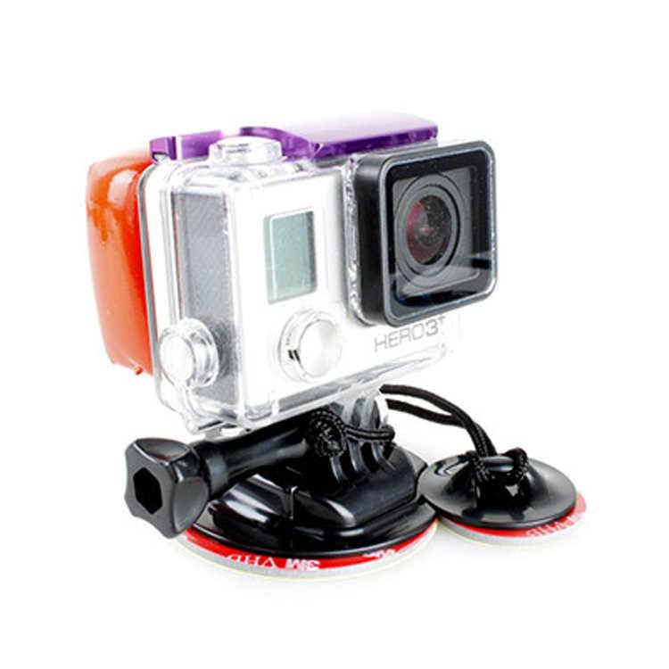 Камера аксессуары для Go Pro Surf расширения доски для серфинга комплект крепления + с плавающей 3 м клей Стикеры для Gopro Hero5 3 + 3 4