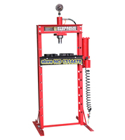 20 Ton Press With Gague Double-column Gantry Hand  Pneumatic Table With Hydraulic Presses