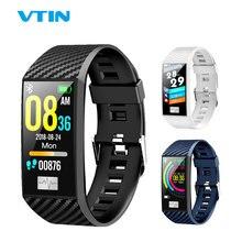 VTIN DT58 Banda Inteligente ECG PPG Esporte Relógio Inteligente IP68 Pressão Arterial Monitor de Freqüência Cardíaca À Prova D Água Relógio Do Esporte Pulseira