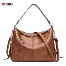 Vintage Women Shoulder Bag Female Causal Totes for Shopping Luxury Lady Hand Bags Large Capacity Messenger Big Tote