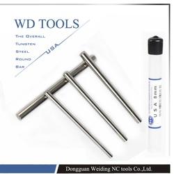 16X100mm 1 PC Tungsten W metalowy pręt o wysokiej twardości o wysokiej wytrzymałości na rozciąganie wysokie wydłużenie wysoka odporność na zużycie