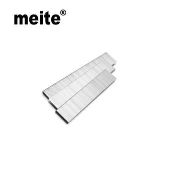 Meite staples K4/90 series crown 5.85mm, leg length 19mm 18GA staples in galvanized zinc wire for 425K,packing: 4000pcs/box