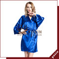 SR010 Silk Robe Bathrobe Women Short Satin Robe Women Peignoir Womens Sleepwear Robes Womens Dressing Gown Pijama Free Shipping