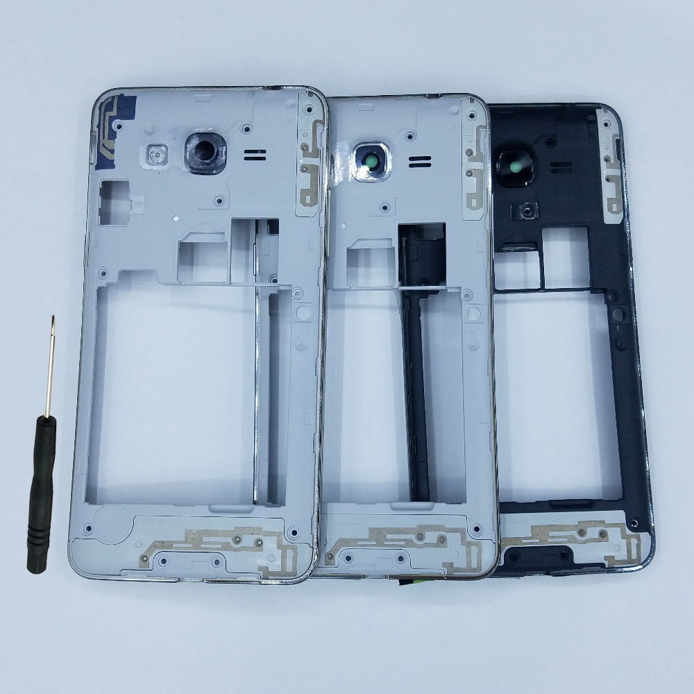 For Samsung Galaxy J2 Prime G532 G532F G532H G532G G532M Original Phone New Middle Frame House With Camera Lens Buttons + Tool