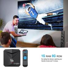 GOMYHOM TV Box Android 7.1 V9 Smart Box Amlogic S912 Octa Core 3GB RAM 32GB ROM H.265 3D 4K HD 2.4G/5G Dual Band Wi-Fi BT4.0 цена