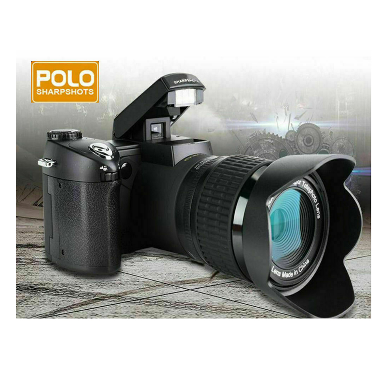 33MP HD D7300 Digital Camcorder Camera Wide Angle Lens 24x Optical Telescope Lens Free Shipping