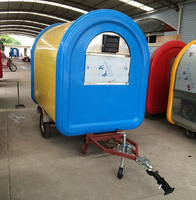 Commercial use Mobile Food Trailer food cart