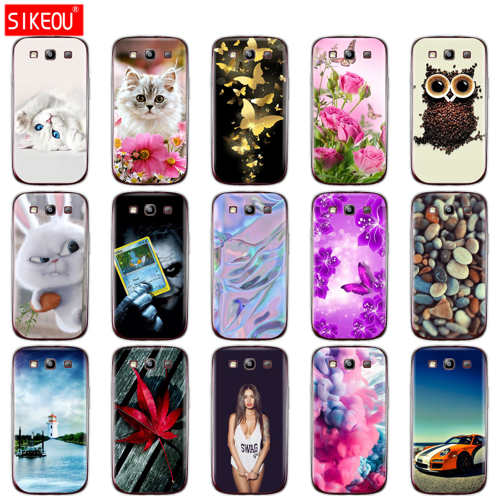 Silicone Case For Samsung Galaxy S3 Case coque i9300 cover for Samsung S3 Cover funda soft TPU full 360 Protective Case