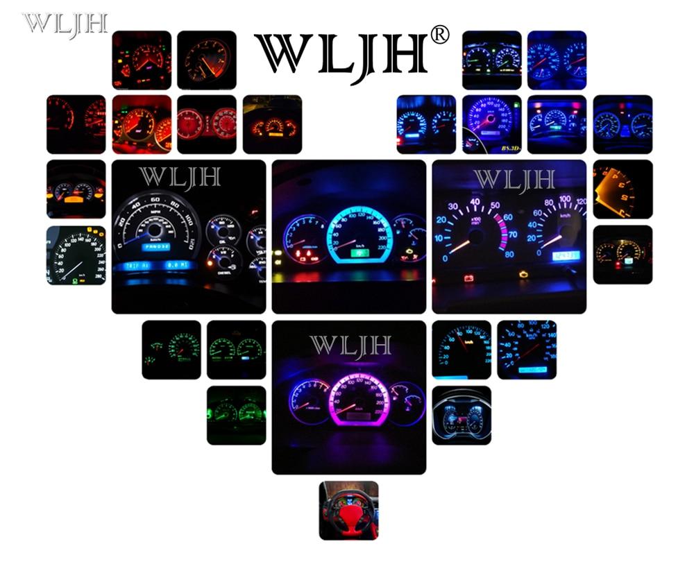 Wljh painel de instrumentos de medição 12v,