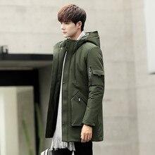 QUOVADIS hooded jacket men jaqueta casaco hombre winter coat male parka Outwear Warm Long Coats Parkas(China) cotton padded