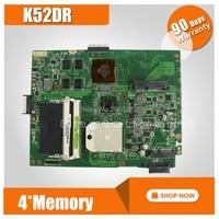 K52DR Motherboard 512M For ASUS A52D K52DE K52D K52DY X52D Laptop motherboard K52DR Mainboard K52DR Motherboard