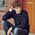Pioneer Camp thicken Sweater men brand clothing pullover men sweater autumn winter fashion elastic male sweaters for men 611205