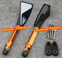 1 Pair CNC Aluminum L&R Rear Side Mirrors For YAMAHA 1999-2003 R6 & 2000-2001 R1, Motorcycle Parts & Accessories, Orange