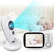 3.2 дюймов ЖК-дисплей Беспроводной видео Baby Камера монитор ночного видения няня безопасности Камера Температура мониторинга VOX няня монитор