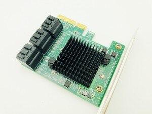 Image 2 - H1111Z Add On Cards Adapter PCIE SATA 3.0 PCI E SATA Card PCI E PCI Express SATA Controller 6 Ports SATA3 PCIE X4 Expansion Card