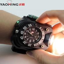 New design USB quartz watch bicycle light multifunction lantern cree XML T6 waterproof rechargeable 2000 lumen flashlight torch