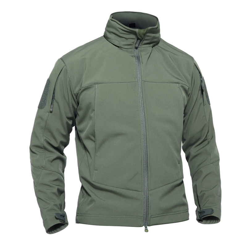 Urban Tactical Waterproof Army Jacket Men Autumn Windproof Softshell Hoodie Windbreaker SWAT Secret Military Jacket Size S-3XL