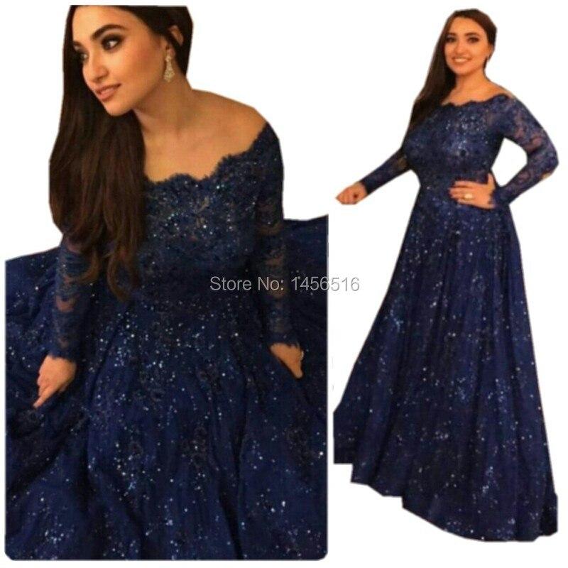 Navy blue long sleeve dress plus size