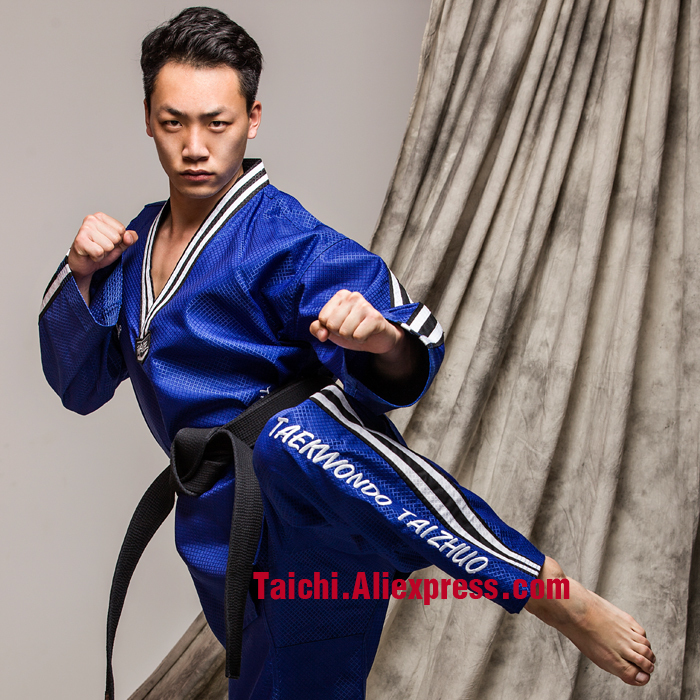The Shrew Doboks New   Adult Children Taekwondo Clothes Super Absorbent And Quick Drying Without Touching The Body