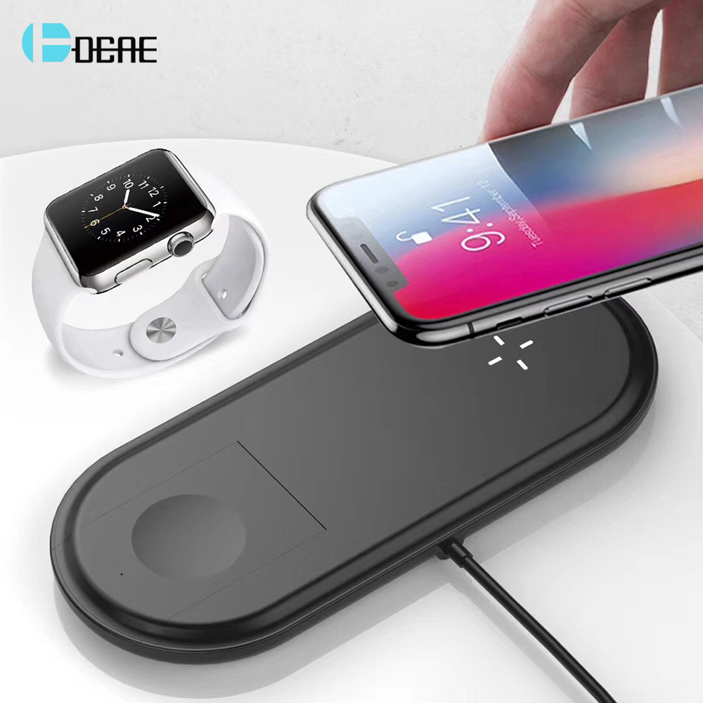 Aliexpress.com : Buy DCAE 10W Qi Wireless Charger For Apple Watch Series 2 3 4 USB Fast Charging