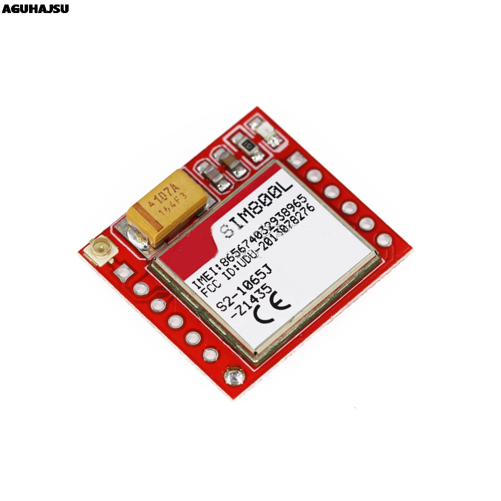 Smallest SIM800L GPRS GSM Module Kit MicroSIM Card Core BOard Quad-band TTL Serial Port with the antenna 5