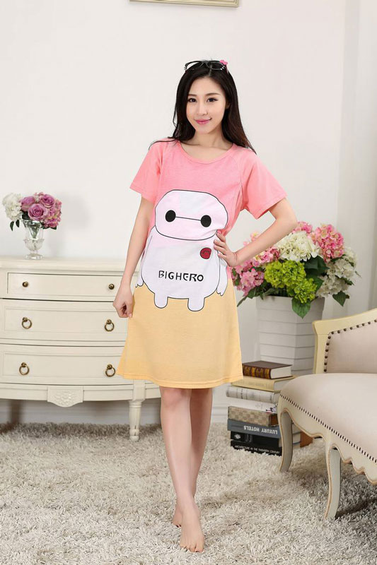 26d14552199dc US $9.62 48% OFF|Rose Red Hello Kitty Maternity dresses for summer pregnant  women clothes dress pregnancy dresses breastfeeding clothes-in Dresses ...