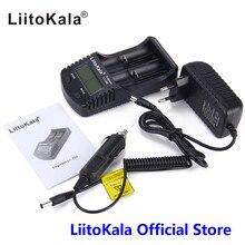 Liitokala Lii-260 ЖК-дисплей 18650/16340 Интеллектуальный Батарея Зарядное устройство, обнаружение литиевая батарея Емкость/внутреннее сопротивление/напряжения