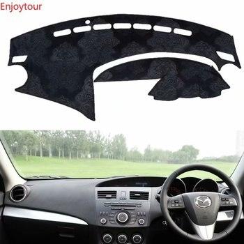 Flannel Dashmat Dashboard Covers Dash Car Mat Carpet Custom Accessories for Mazda 3 Mazda3 BL 2009 2010 2011 2012 2013 Rhd