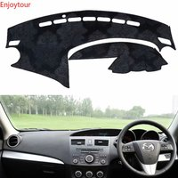 Flannel Dashmat Dashboard Covers Dash Car Mat Carpet Custom Accessories for Mazda 3 Mazda3 BL 2009 2010 2011 2012 2013 Rhd