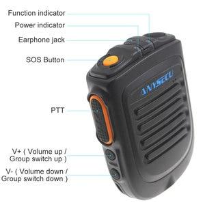 Image 2 - Wireless PTT Bluetooth handsfree Speaker B01 Microphone for POC Android Network Radio Walkie Talkie Phone work with Zello PTT