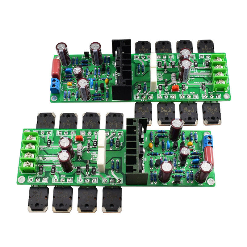 Dual Channel 250W*2 Stereo HiFi Audio Power Amplifier Assembled Board & DIY Kit