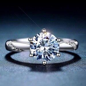 Image 1 - [Meibapjモアッサナイト、カラットスーパーホット販売、に匹敵するダイヤモンド、絶妙な技能