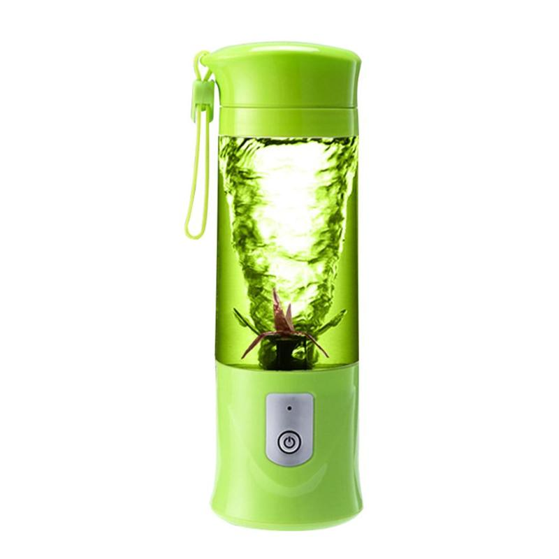 400ml USB Rechargeable Juicer Blender Fruits Mixer Juice Extractor Portable Mini Juicer Smoothie Maker Household Machine 2 pcs lot household juicer mixer accessories mixer rotation turn left