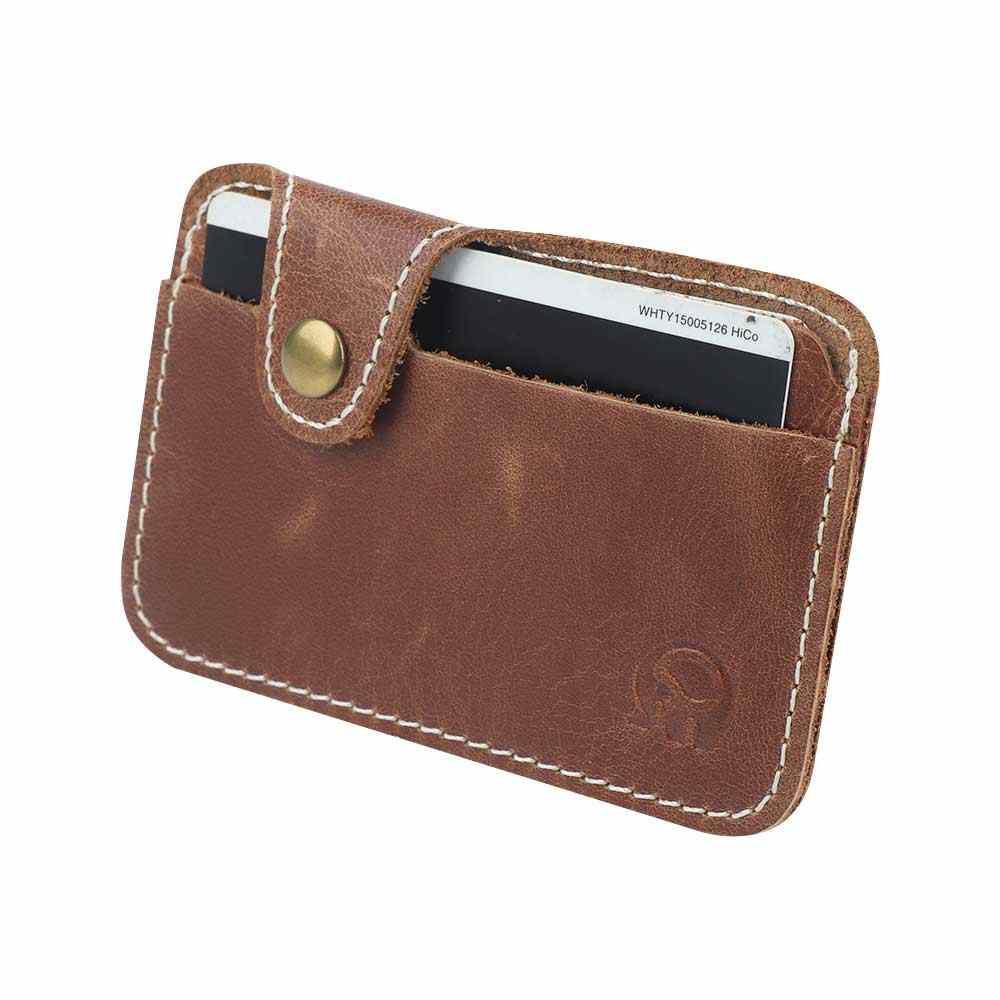 Fashion Kulit Buatan Klip Uang Slim Kartu Kredit ID Pemegang Dompet Uang Cash Pemegang Dompet Tas Paket