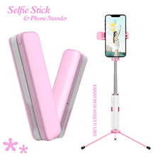 Wireless Bluetooth 3 in 1 Mini Selfie Stick For Xiaomi iPhone 7 Foldable Selfie Shutter Handheld Extendable Tripod Phone Stander