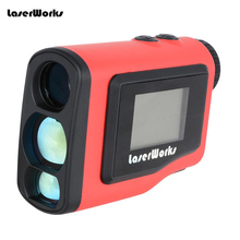 цена на 2015 New Monocular Angle of Elevation 600M Laser Golf Rangefinder Laser Height Angle Finder with angle and Slope Function