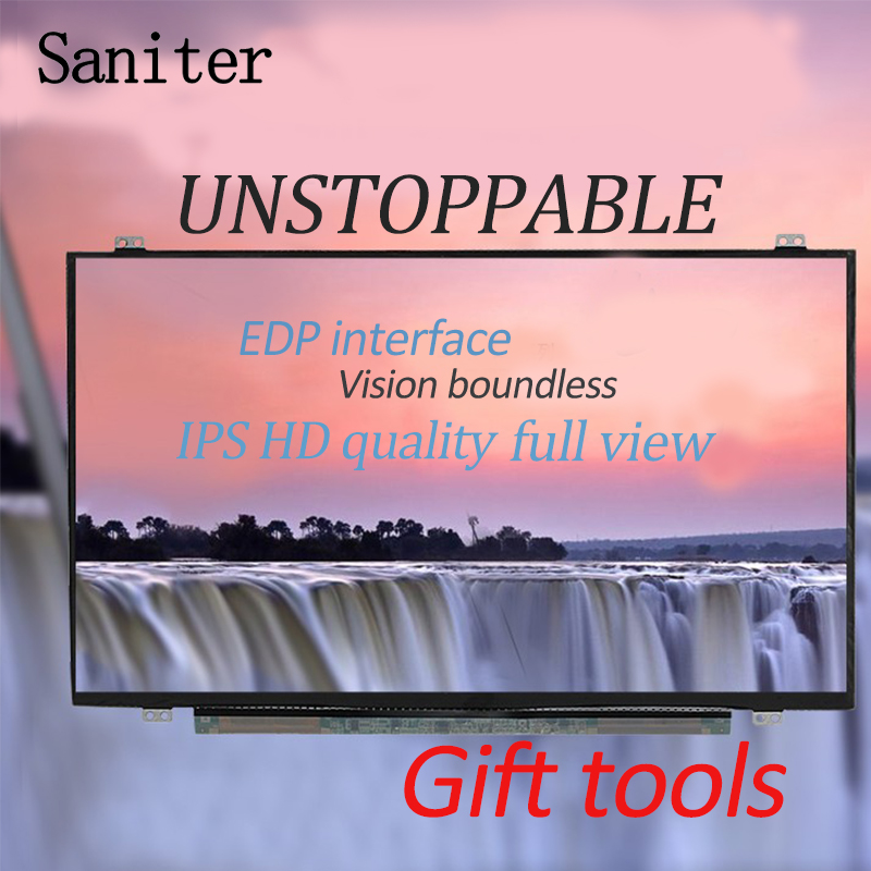 SANITER Apply to B156HAN01.2.1 Lenovo Y50 upgrade IPS Wide Angle of view high screen LCD screen saniter lp156wf6 sp a1 b1 k1 h1 ltn156hl01 ltn156hl02 ips high lcd screen