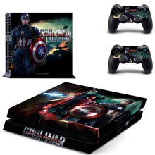 Super Hero: Superman VS Batman Vinyl Decal Protect Film PS4 Consol And Controller Skins Sticker For Sony PlayStation 4 Cover