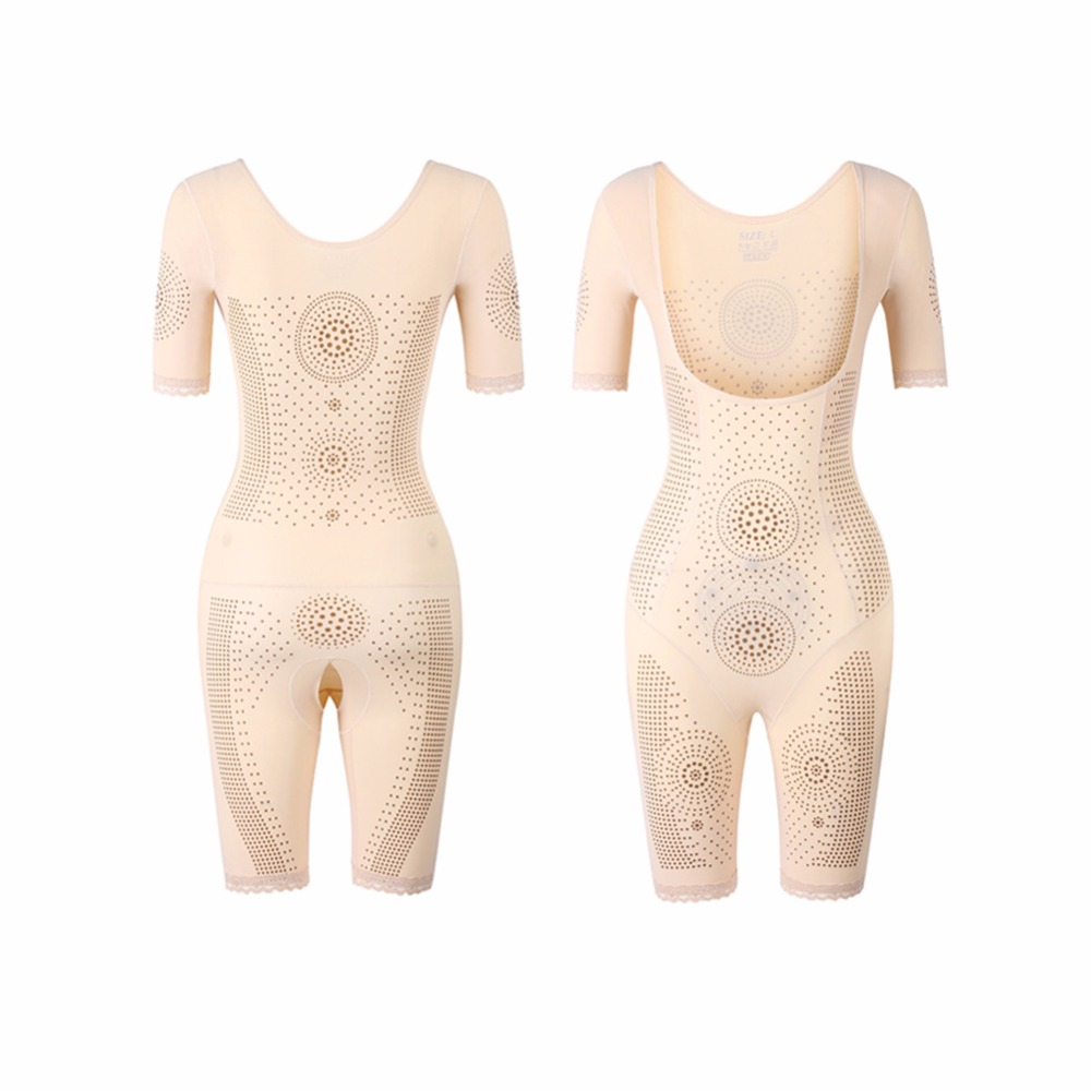 d4f655dc5 Yumdo Slim Control Slip Full Body Shaper Thermal Waist Cincher Bodysuit Arm  Shaper Thigh Slimmer Body Suit Butt Lift Shapewear -in Bodysuits from  Underwear ...