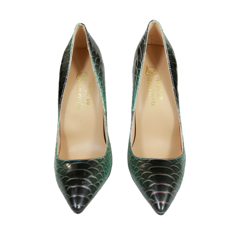 Dames As Relief Haute Aiguilles Chaussures Bout Femmes En Cuir Qianruiti Pointu Pompes 12 Shown Sexy Or Cm Robe gold De Talons fgyv7Yb6