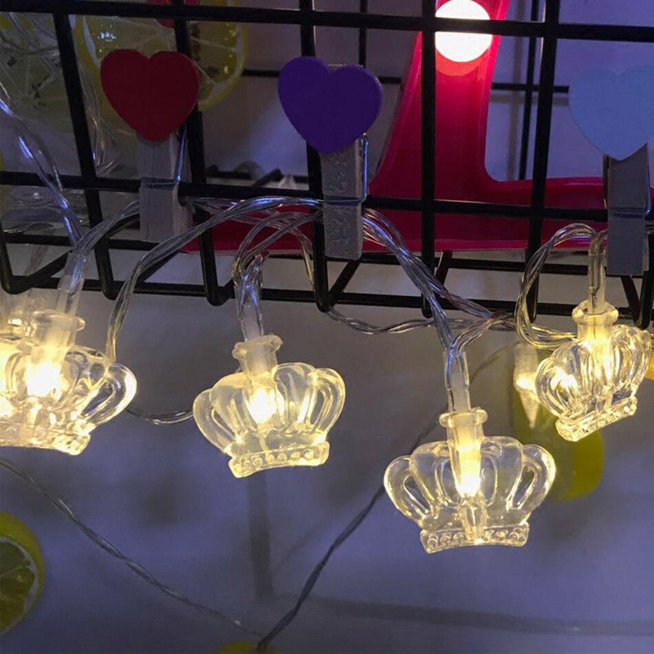 Aliexpress.com : Buy Portable novelty crown Lights String ...