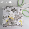 Зима Мультфильм Детские одеяла сгущаться двойной слой флиса пеленать младенца коляска обернуть конверт для новорожденных детское постельное белье одеяло