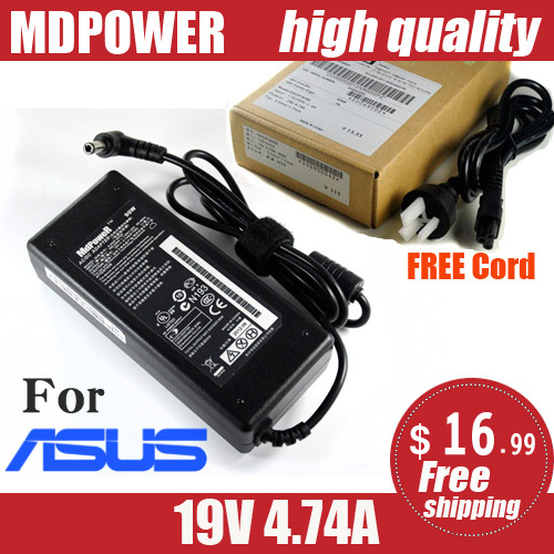 MDPOWER For ASUS N53Jq N53X N56VM N61W notebook laptop power supply power AC adapter charger cord