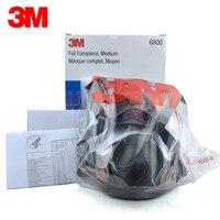 Original 3M 6800 Painting Spraying Respirator Gas Mask Industry Chemcial Full Face Gas Mask Medium