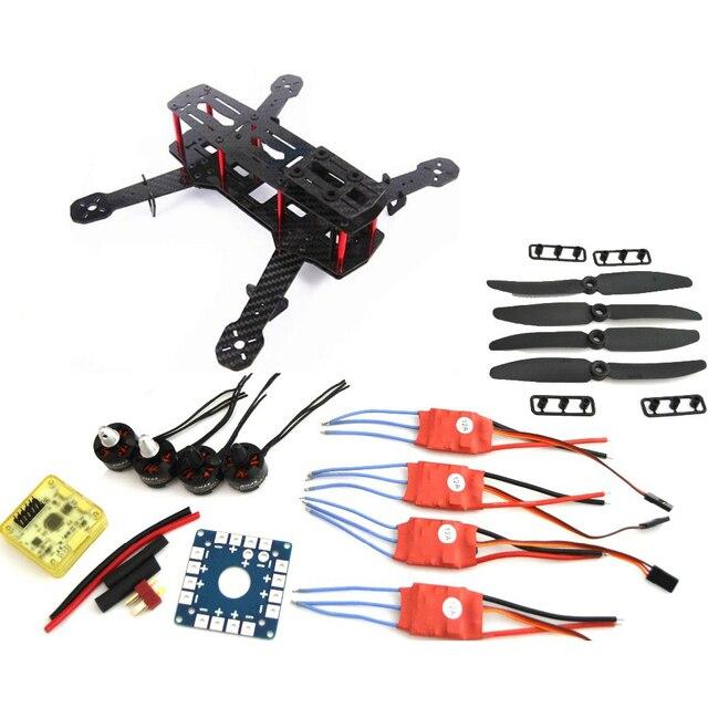 Carbon Fiber Mini QAV250 C250 Quadcopter Motor 12A Esc Flight Control Prop