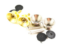 Alice 2 Sets Acoustic Electric Guitar Strap Locks Nickel&Gold Plated Metal Ends Free Shipping Wholesales цена
