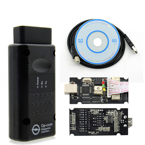 Image 4 - HOT!! 2019 OP COM V1.99 For Opel for S AABChip PIC18F458&FTDI Chip HW OPCOM CAN BUS Interface OP COM Flash Update free shipping